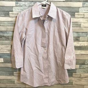 Jcrew button up 3/4 women shirt size S